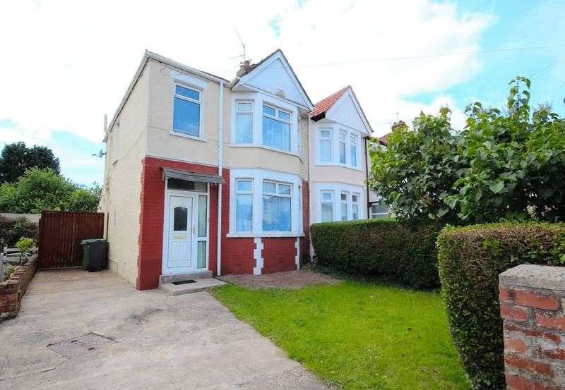 3 Bedrooms Semi Detached House for sale in Fairways Crescent, Fairwater
