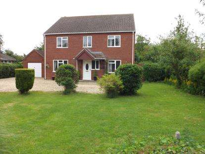 4 Bedrooms Detached House for sale in Sloothby, Alford, Lincolnshire