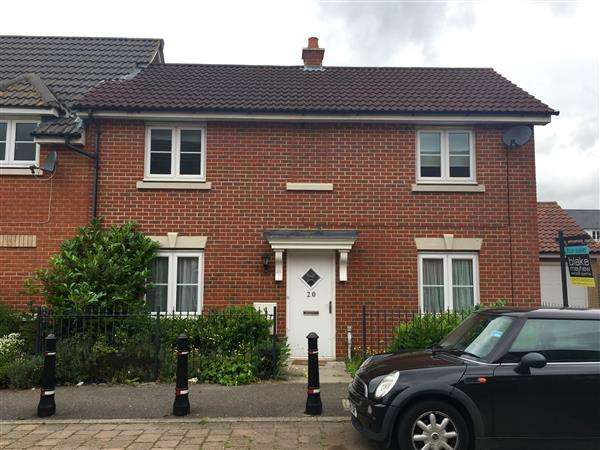 3 Bedrooms Semi Detached House for sale in Bull Road, Ipswich