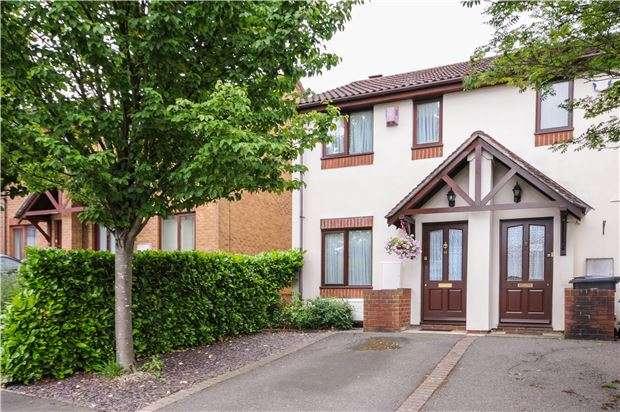 2 Bedrooms End Of Terrace House for sale in Kelvin Gardens, CROYDON, CR0 4UU