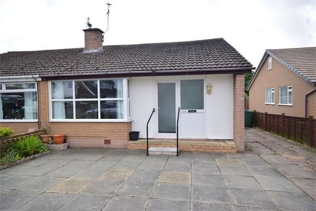 2 Bedrooms Semi Detached Bungalow for sale in Waddington Road, LYTHAM ST ANNES, Lancashire