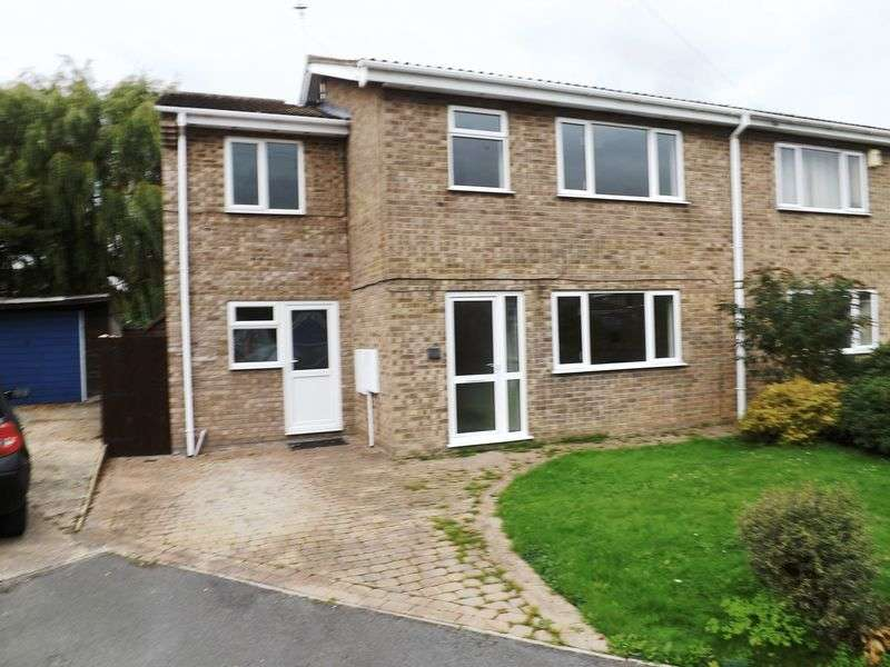 4 Bedrooms Semi Detached House for sale in Velden Way, MARKET RASEN
