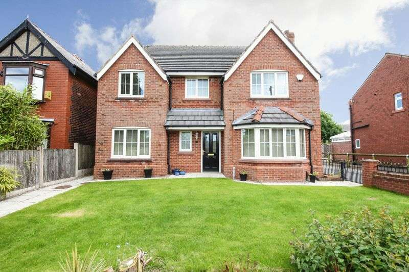 4 Bedrooms Detached House for sale in Moss Road, Billinge