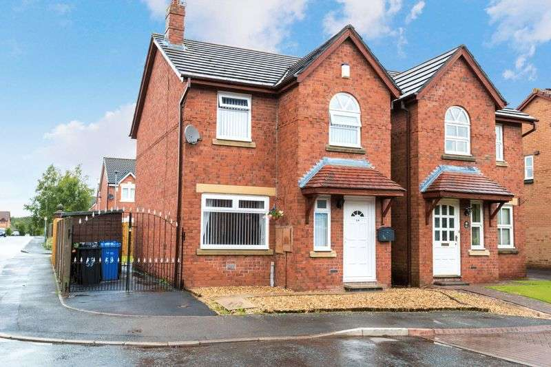 3 Bedrooms Detached House for sale in Helmsley Close, Warrington