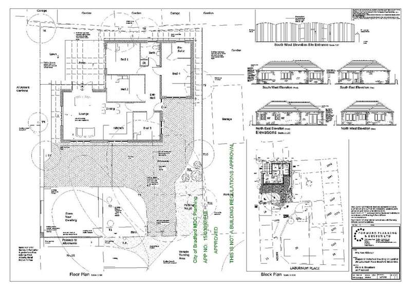 4 Bedrooms Land Commercial for sale in Land at Laburnum Place, Apperley Bridge, Bradford, BD10 0NA