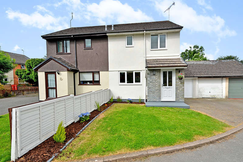 3 Bedrooms Semi Detached House for sale in Newquay Road, St. Columb, Cornwall