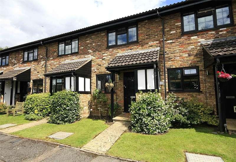 2 Bedrooms Terraced House for sale in Halleys Walk, New Haw, Surrey, KT15