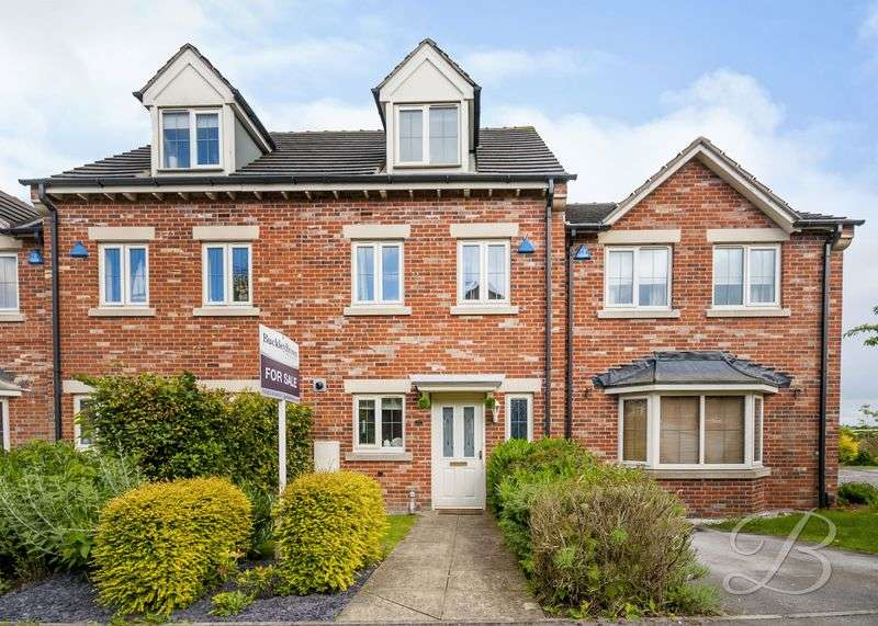 3 Bedrooms Terraced House for sale in Padstow Close, Mansfield