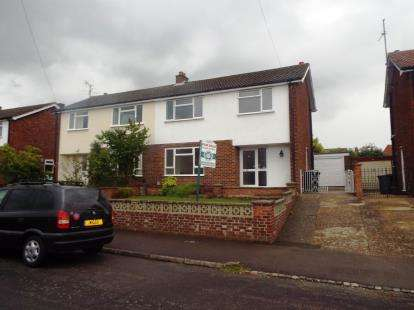 3 Bedrooms Semi Detached House for sale in Primrose Lane, Arlesey, Bedfordshire