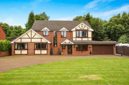 5 Bedrooms Detached House for sale in Mount Pleasant, Kidsgrove, Stoke-On-Trent, Staffordshire