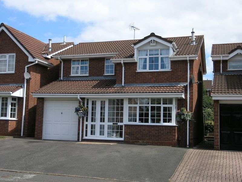 4 Bedrooms Detached House for sale in Flamborough Way, Coseley
