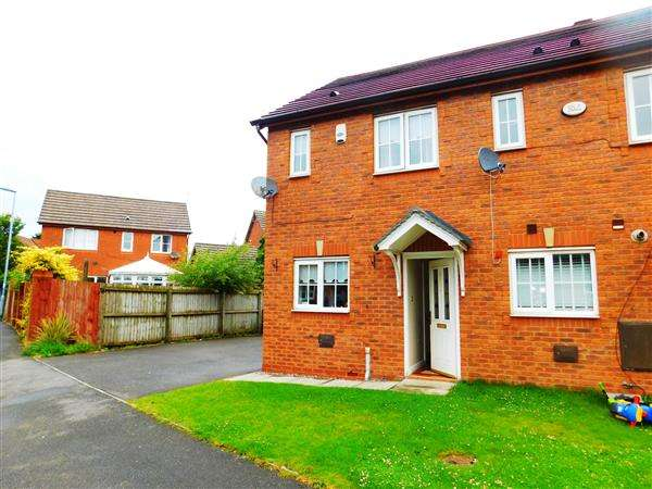 2 Bedrooms Semi Detached House for sale in Ford Avenue, Kirkby