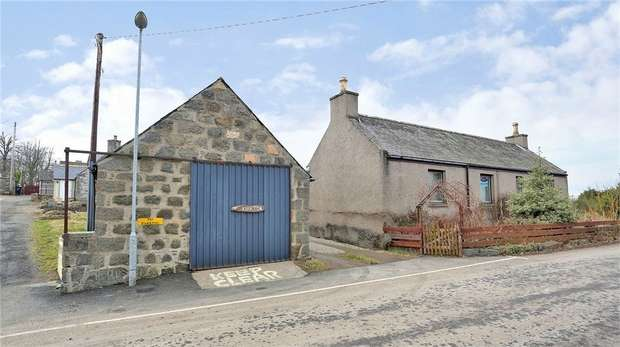 3 Bedrooms Cottage House for sale in Clatt, Huntly, Aberdeenshire