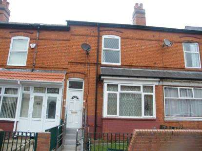 3 Bedrooms Terraced House for sale in Esme Road, Sparkhill, Birmingham