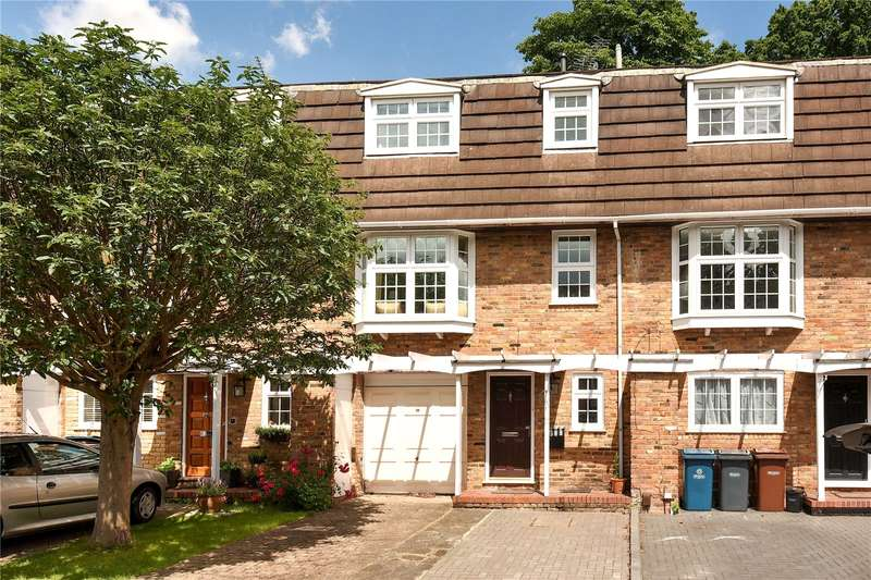 4 Bedrooms Mews House for sale in Westbury Lodge Close, Pinner, Middlesex, HA5