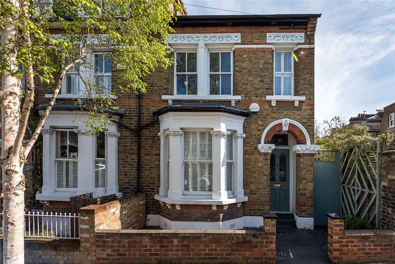 4 Bedrooms Terraced House for sale in Cleveland Gardens, Barnes, London, SW13