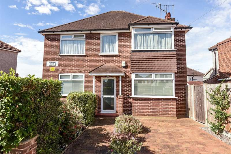 2 Bedrooms Maisonette Flat for sale in Kingswear Court, Kingswear Road, Ruislip Manor, Middlesex, HA4