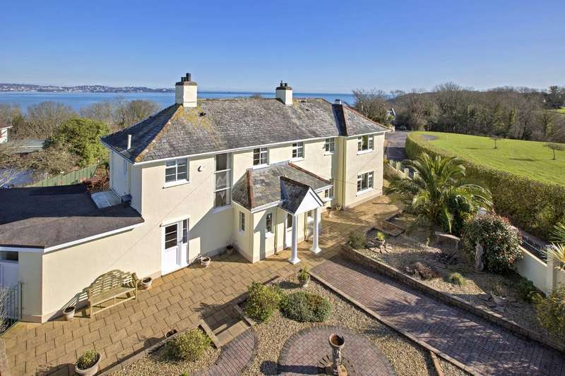 4 Bedrooms Detached House for sale in Churston Ferrers, Brixham, Devon
