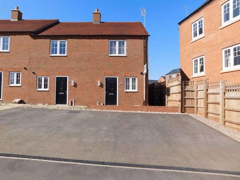 2 Bedrooms Terraced House for sale in Needlepin Way, Buckingham