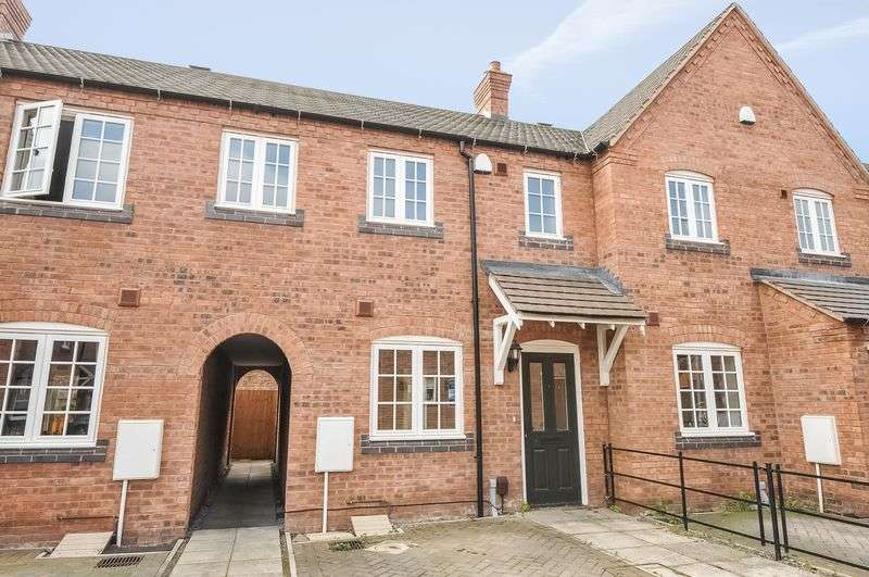 3 Bedrooms Terraced House for sale in Castle Gardens, Telford