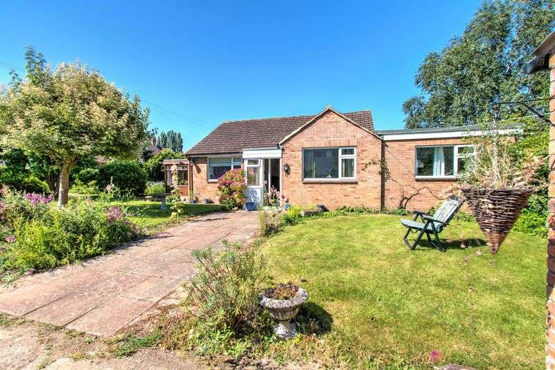 3 Bedrooms Detached Bungalow for sale in Parton Road, Churchdown, Gloucester