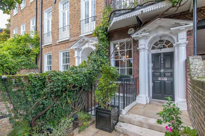 5 Bedrooms Terraced House for sale in Cheyne Walk, London, SW3