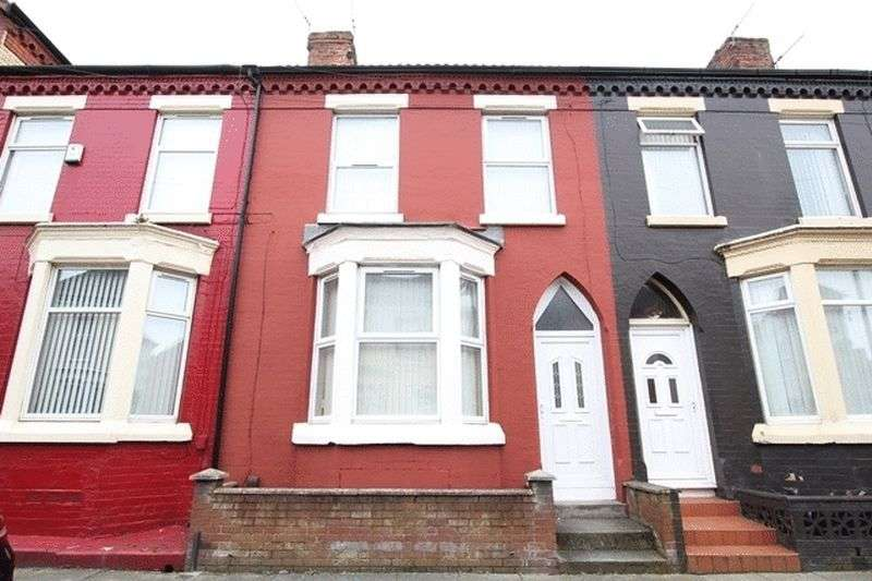 2 Bedrooms Terraced House for sale in Pendennis Street, Anfield, Liverpool, L6