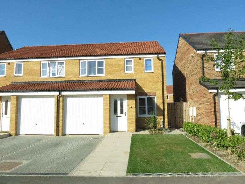 3 Bedrooms Semi Detached House for sale in Poppy Lane, Shotton, County Durham DH62LF.