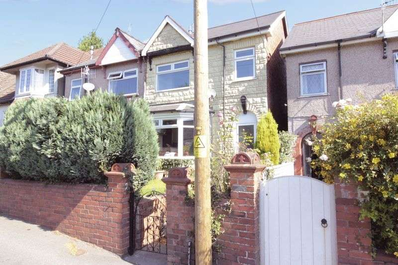3 Bedrooms Semi Detached House for sale in Grove Road, Pontypool
