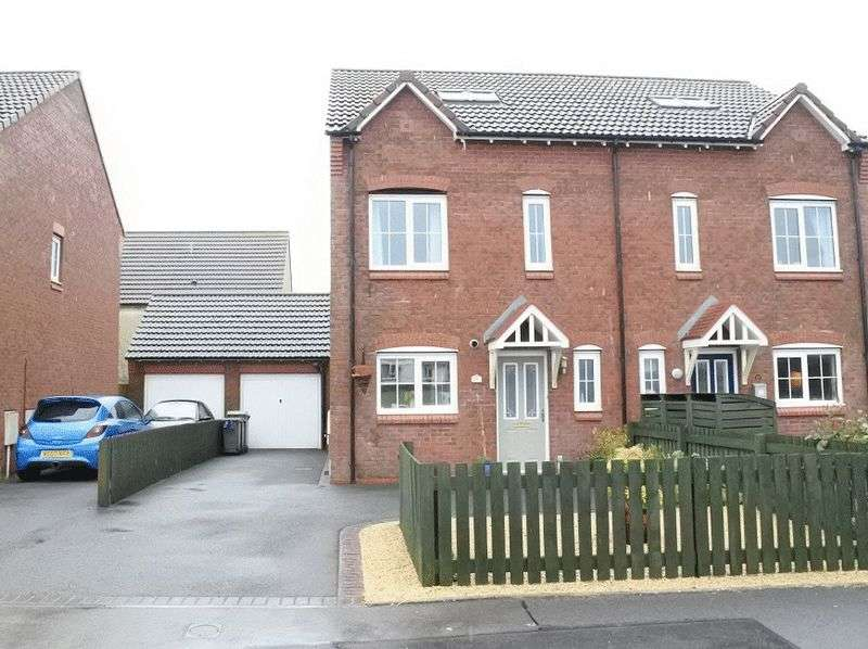 4 Bedrooms Semi Detached House for sale in Harriston Road, Aspatria