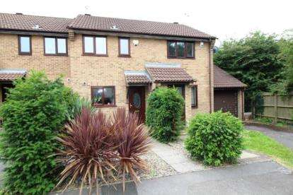 2 Bedrooms Terraced House for sale in Wedmore Close, Kingswood, Bristol