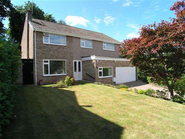 5 Bedrooms Detached House for sale in Ty Mynydd Close, Radyr