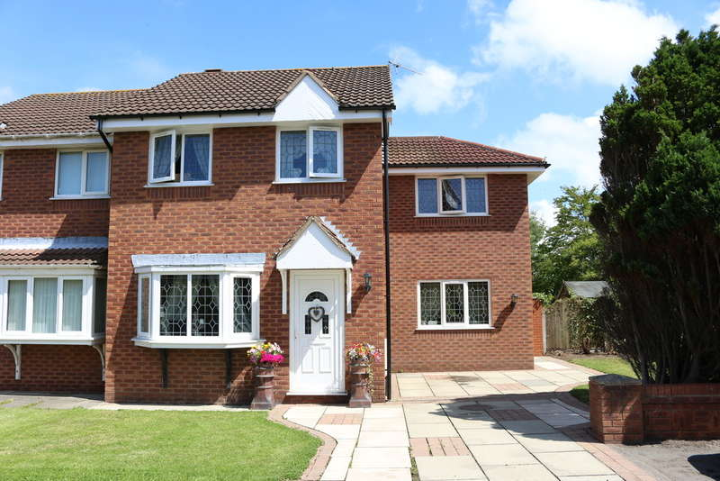 4 Bedrooms Semi Detached House for sale in Hillcrest Close, Tarleton