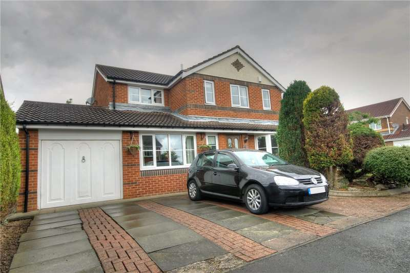 4 Bedrooms Detached House for sale in Hawkhill Close, Chester Le Street, County Durham, DH2