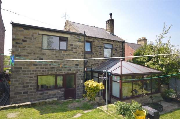 3 Bedrooms Detached House for sale in Albert Road, Clayton West, Huddersfield, West Yorkshire