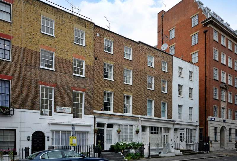 4 Bedrooms House for sale in Upper Montagu Street, Marylebone, W1H