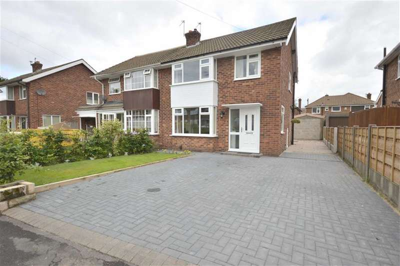 3 Bedrooms Property for sale in CANBERRA ROAD, Bramhall, Stockport, Cheshire, SK7