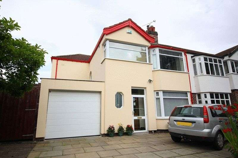 4 Bedrooms Semi Detached House for sale in Mossley Hill Road, Mossley Hill, Liverpool, L18