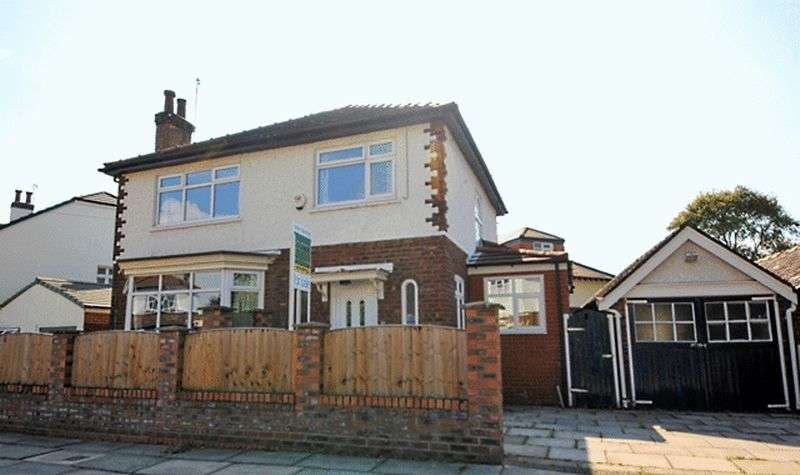 3 Bedrooms Detached House for sale in Ranelagh Drive South, Grassendale, Liverpool, L19