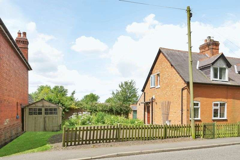 2 Bedrooms Semi Detached House for sale in 34 Main Street, Thorpe Satchville