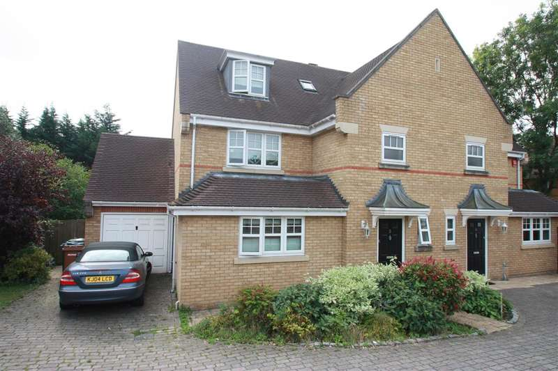 4 Bedrooms Semi Detached House for sale in Olivia Mews, HARROW