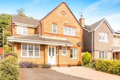 4 Bedrooms Detached House for sale in Badger Close, Padiham, Burnley, Lancashire, BB12