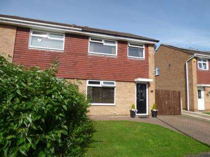 3 Bedrooms Semi Detached House for sale in Blackthorne Avenue, Whitby, Ellesmere Port, Cheshire, CH66