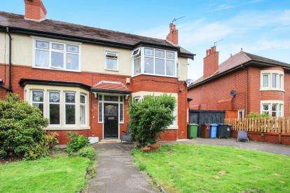 4 Bedrooms Semi Detached House for sale in Grange Road, Lytham St. Annes, Lancashire, England, FY8