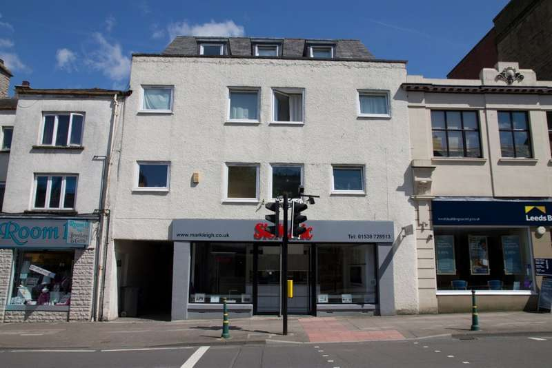 1 Bedroom Flat for sale in Flat 4, 85/87 Stricklandgate, Kendal, Cumbria LA9 4RA