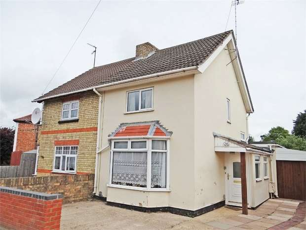 2 Bedrooms Semi Detached House for sale in Mayors Walk, Peterborough, Cambridgeshire