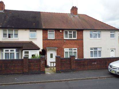 3 Bedrooms Terraced House for sale in St. Stephens Road, West Bromwich, West Midlands