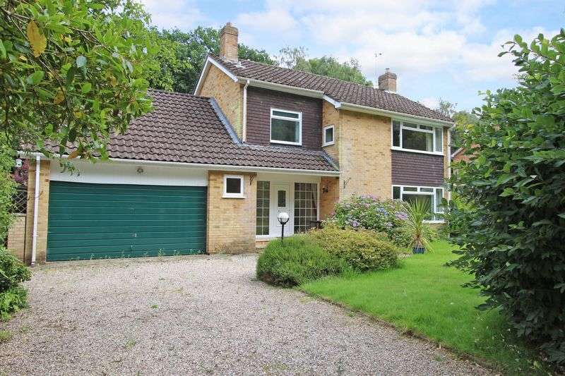 4 Bedrooms Detached House for sale in Awbridge