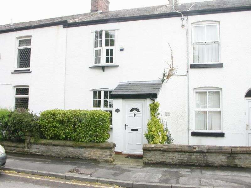 2 Bedrooms Terraced House for sale in HAZEL GROVE (CHESTER ROAD)