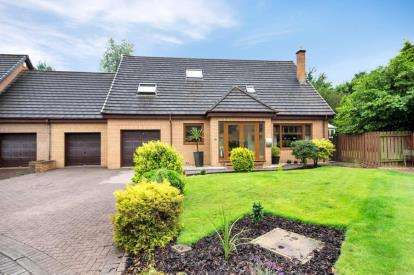 4 Bedrooms Detached House for sale in Kames Court, Girdle Toll, Irvine, North Ayrshire